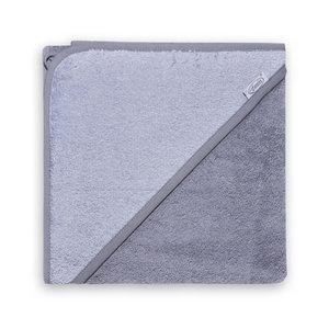 Badcape Antraciet-grijs 80x80 cm