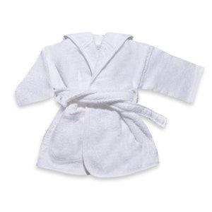 Badjas wit 1-2 jaar - in Babykleertjes