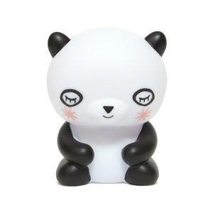 Petit Monkey Nachtlampje Panda beer - in Babykameraankleding