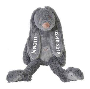 Happy Horse Deep Grey Tiny Rabbit Richie met Naam