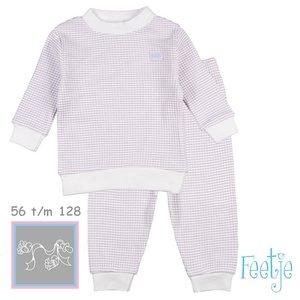 Feetje Pyjama wafel Lila summer special